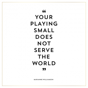 Image result for your playing small quotes