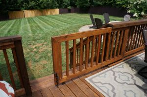 Baby Proofing Outdoor Spaces Sliding Gate Top Deck Building Tips