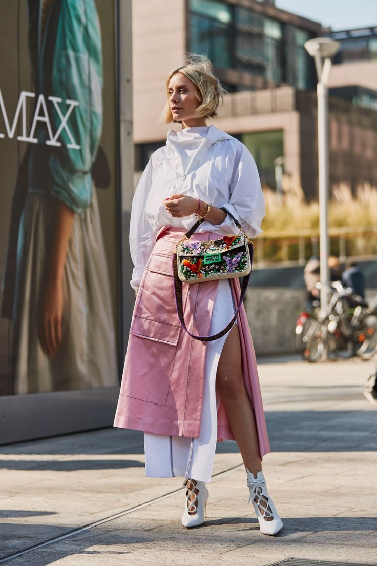 The Best Street Style Looks From Milan Fashion Week Fall 2019 - Fashionista