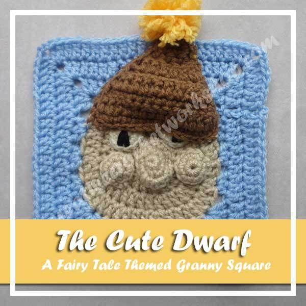 The Cute Dwarf - Free Crochet Pattern | Dwarf, Free crochet and ...