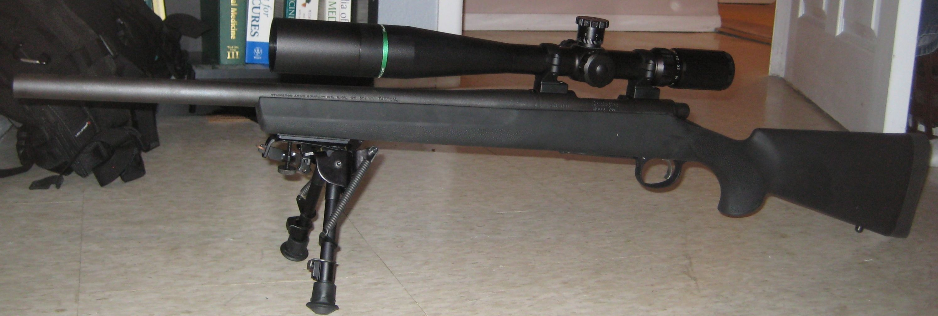 Remington 700 SPS Tactical Heavy Barrel 7 62x51mm 4rd, Harris Bi-Pod