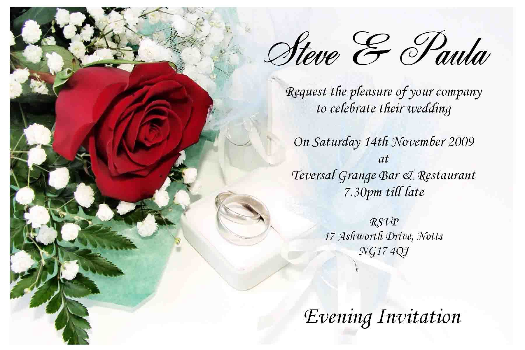 Wedding Invitation Cards Online Free For You