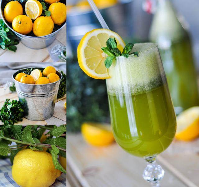 أحلى وأسهل طريقة لعمل عصير الليمون بالنعناع في المنزل Food Cooking Recipes