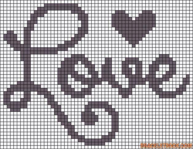 épinglé Par Choupinette Damour Sur Pixel Art Modèles De