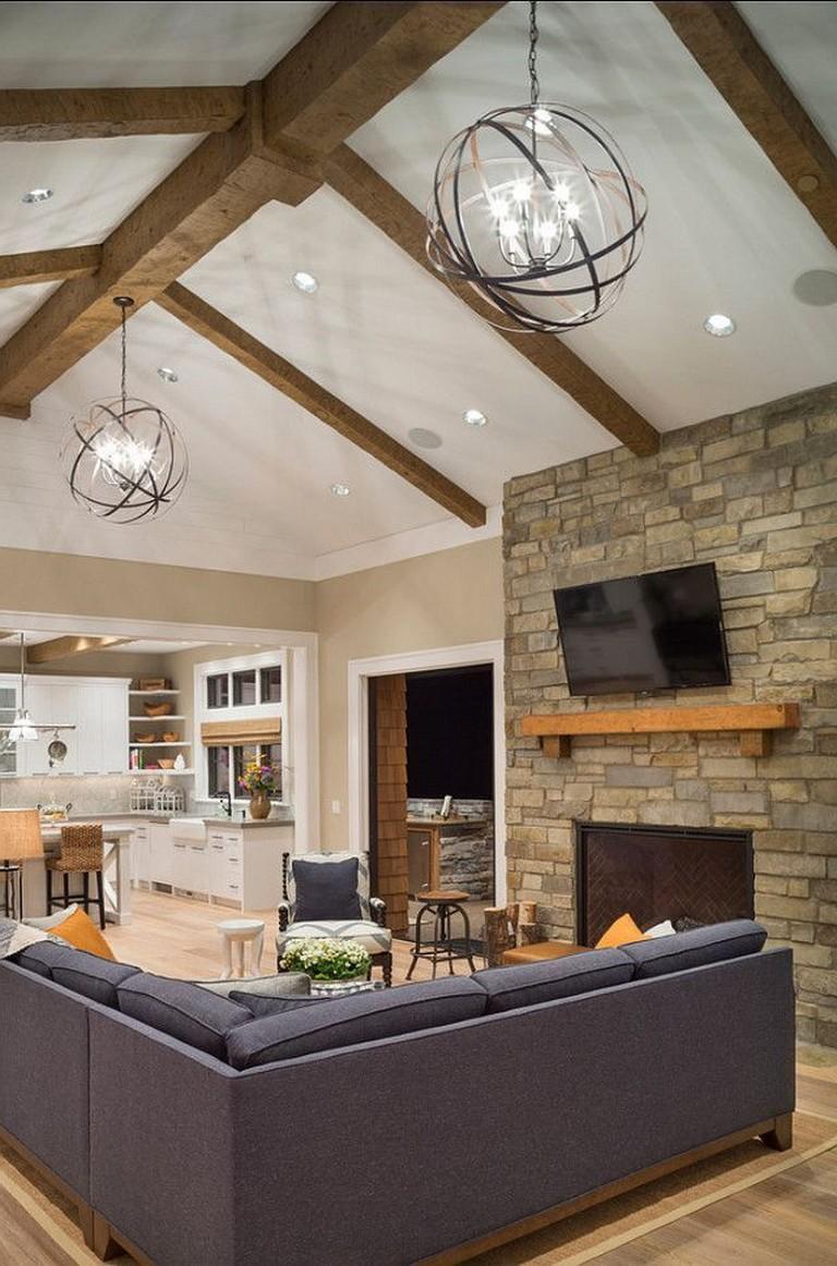 35 gorgeous ceilings lighting design ideas for living room