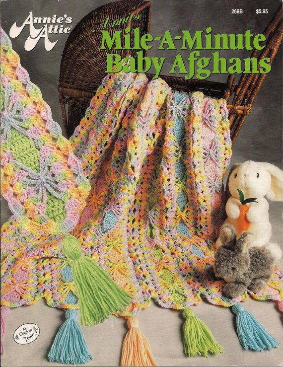 Baby Afghan Mile-A-Minute Crochet Pattern Book | Crochet MILE A ...