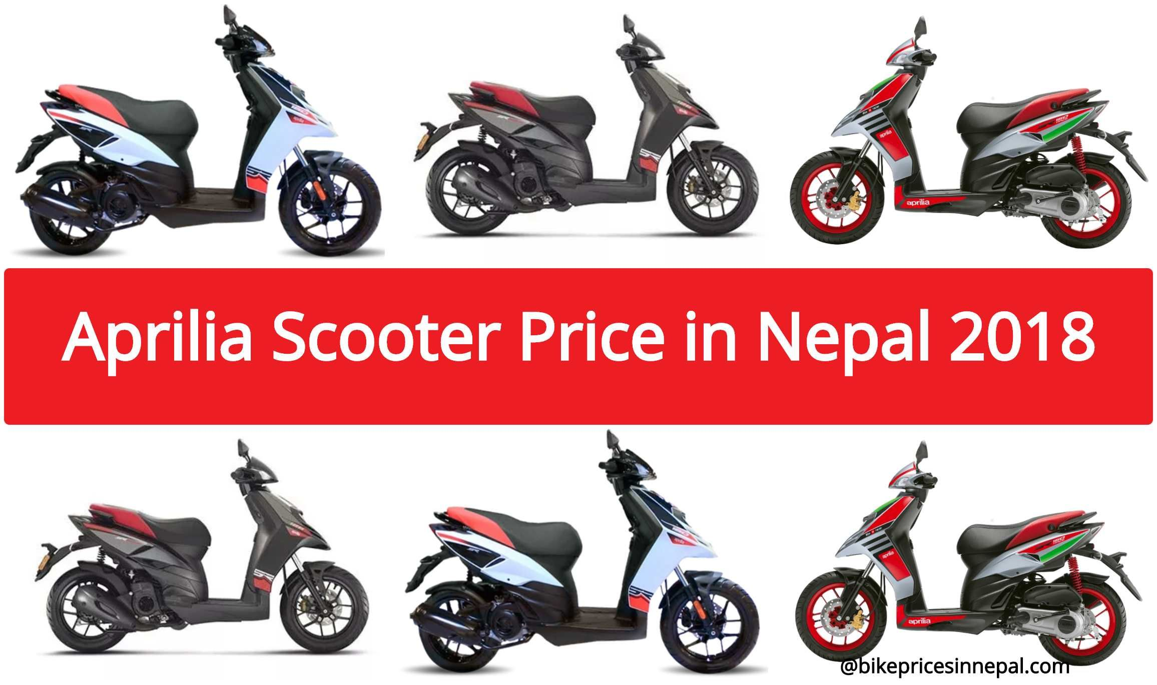 Aprilia Scooter Price In Nepal 2020 Updated Scooter Price