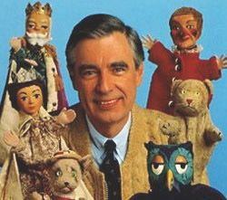 17 Images That Will Ruin Your Childhood Mr Rogers Mr Rogers Neighborhood Puppets Mister Rogers Neighborhood