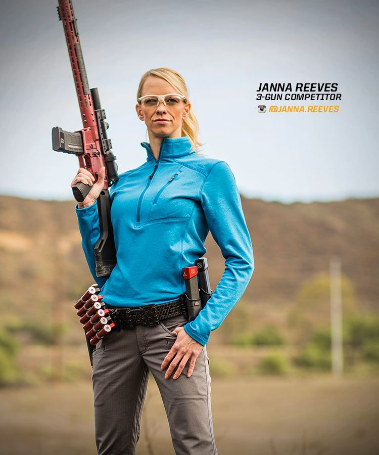 67219ff2242 Janna Reeves is a 3-Gun Competitor sponsored by 5.11 Tactical ...