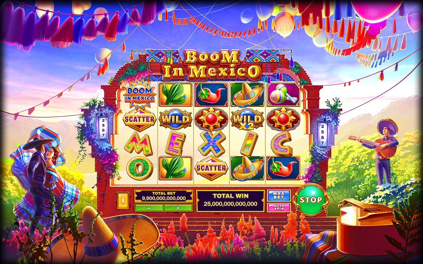 Route of Mexico Slot Machine