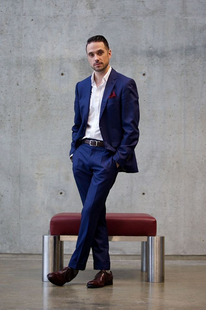 5 Ways To Wear A Blue Suit - Show this to your groom (and his ...