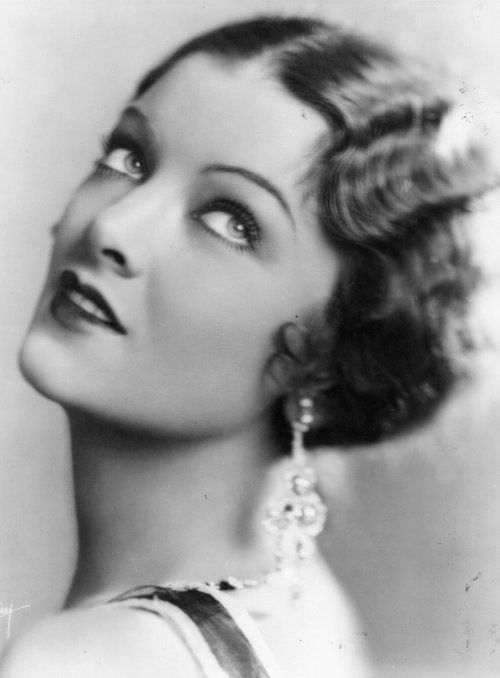 A PERSON IN THE DARK: Myrna Loy: The Peoples Queen