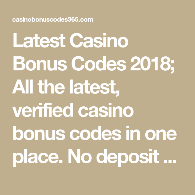 New Casino Bonus Code