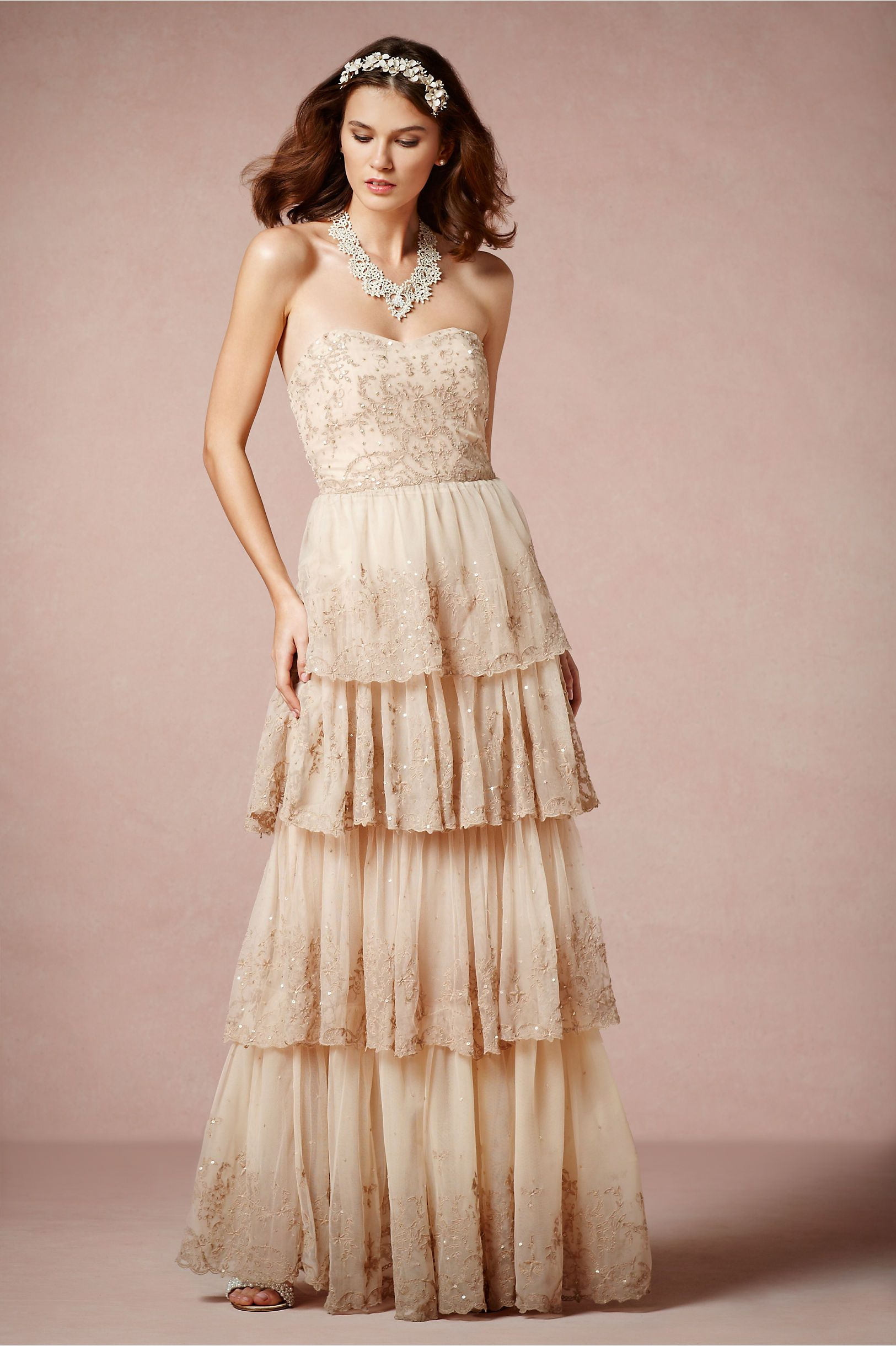 Rosecliff Gown from BHLDN | Wedding | Pinterest | Bodas vintage ...