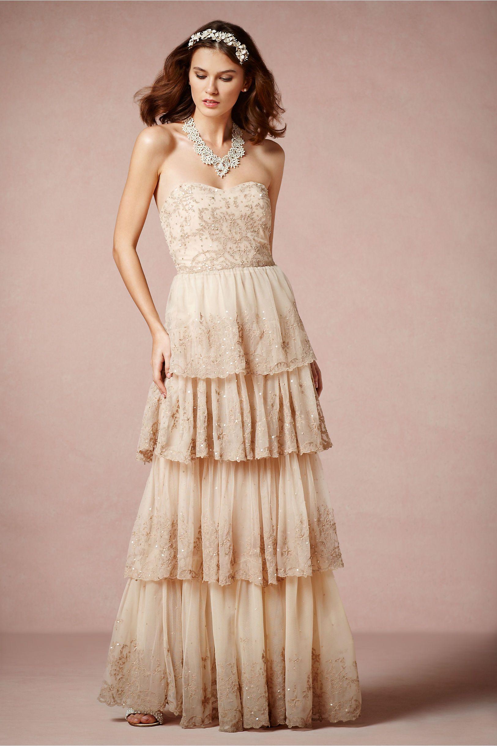 Rosecliff Gown from BHLDN | Weddin\' | Pinterest | Gowns, Wedding ...