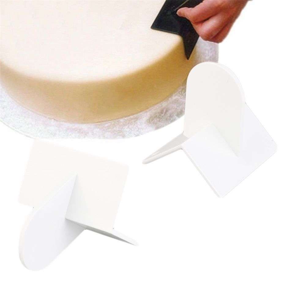 Practical Cake Smoother Sharp Top Edger Decorating Diy Tool Supply Xt
