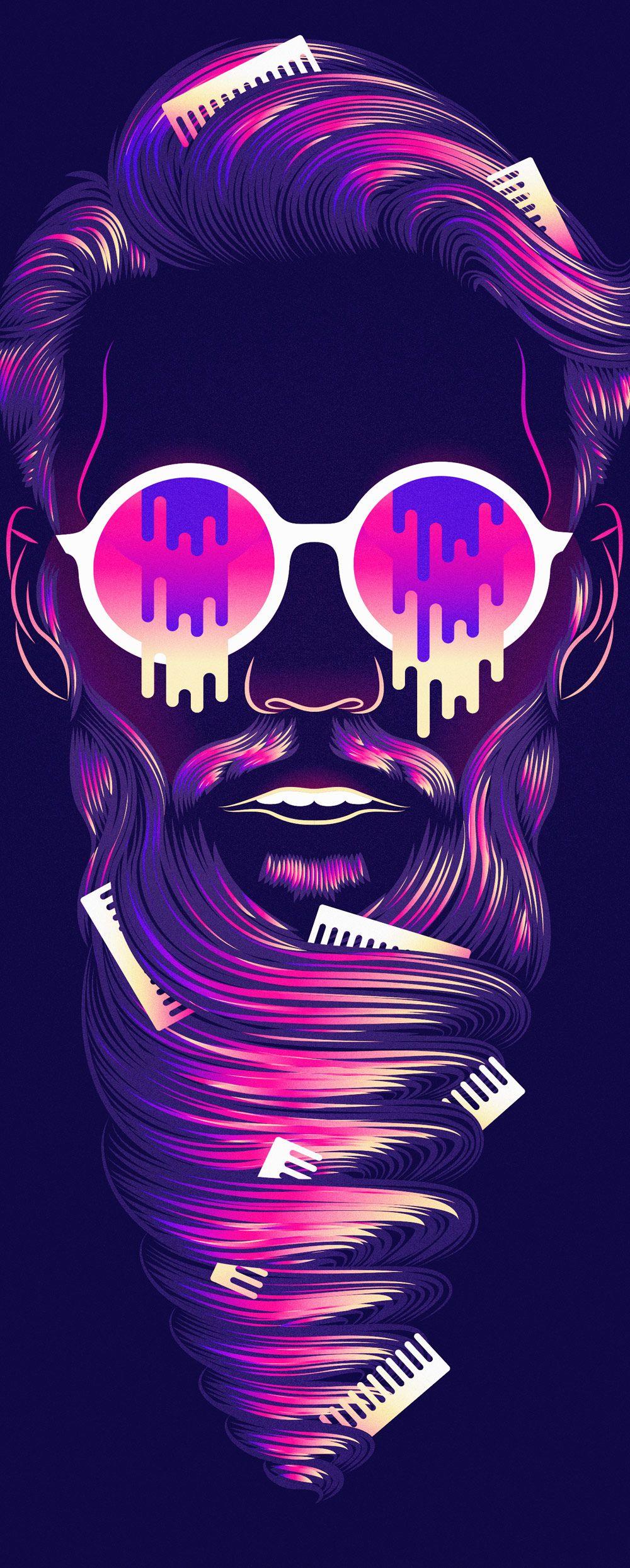 Patrick Seymour dibuja con las dos manos | Blog de diseño gráfico y creatividad.
