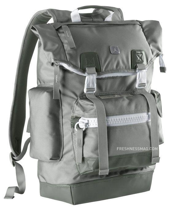 5751451502f BNWT Nike AIR Jordan XI Cool Grey Pinnacle Backpack Free Shipping | eBay