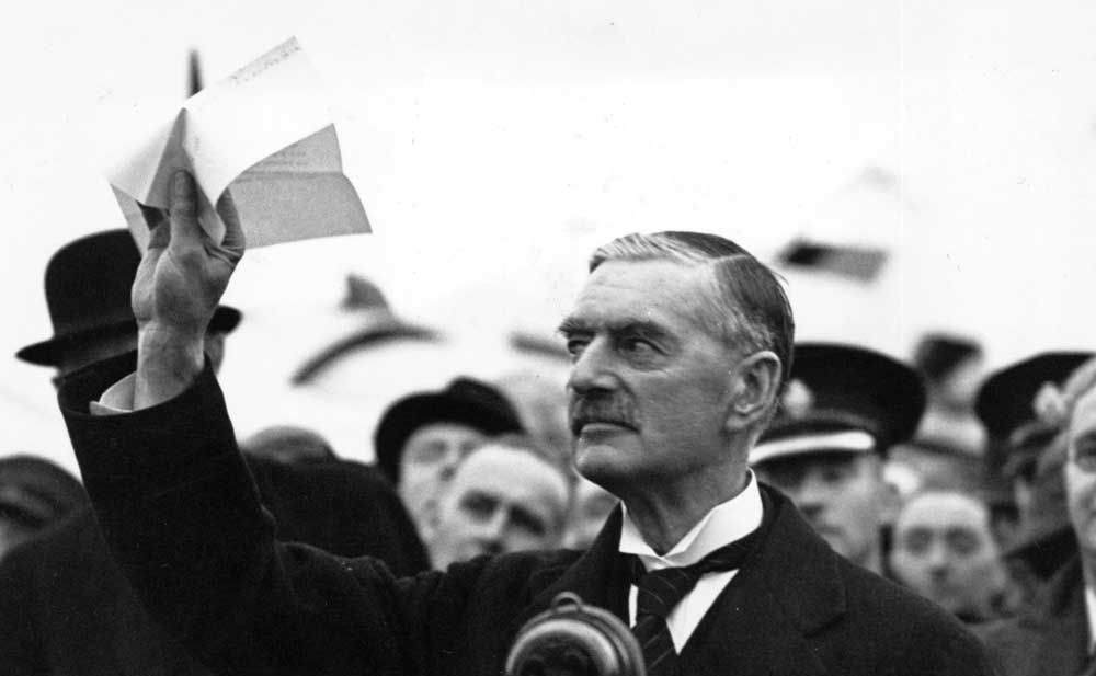 1938 After Successfully Negotiating The Munich Agreement With