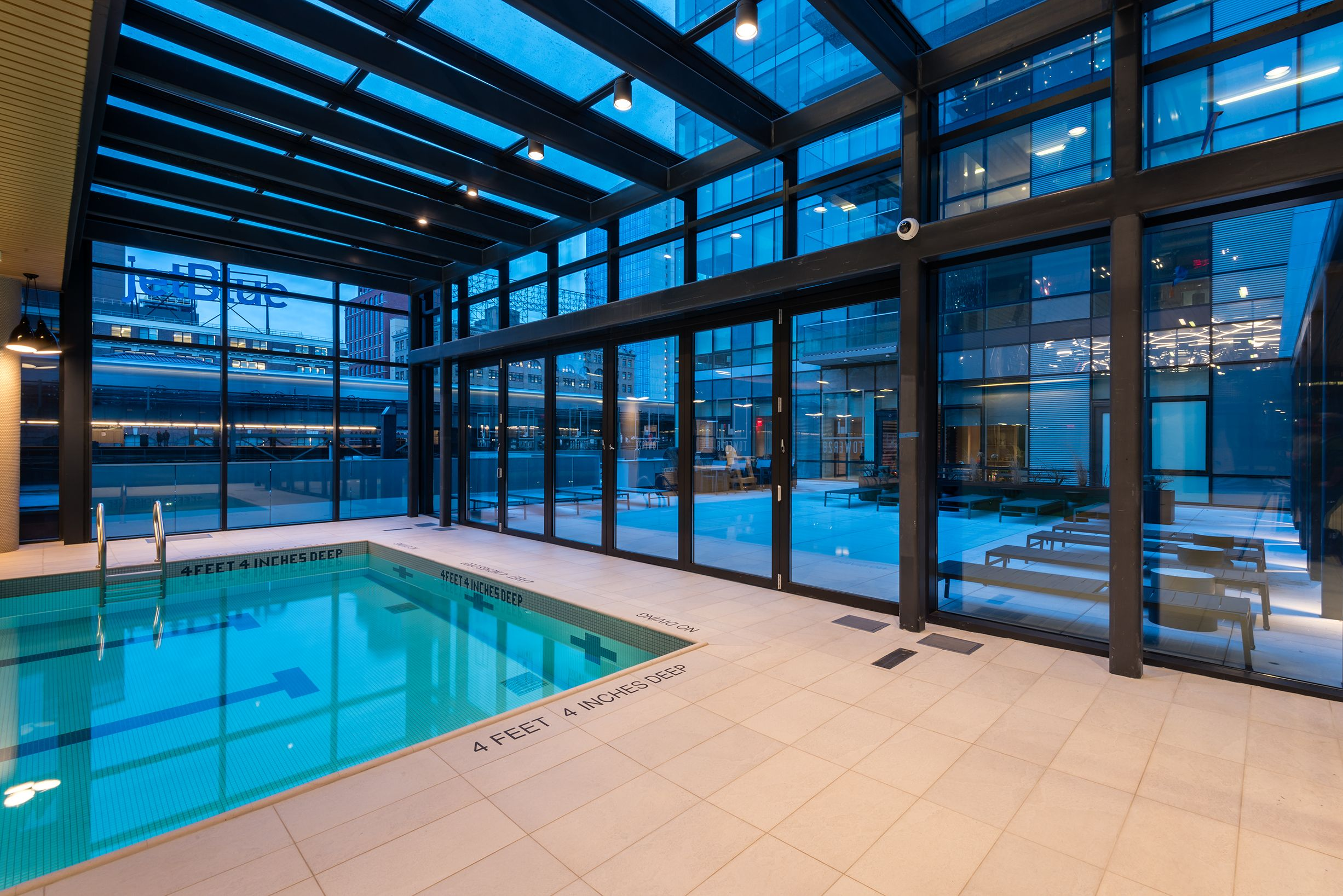 Indoor Climate Controlled Pool at #tower28 Long Island City ...