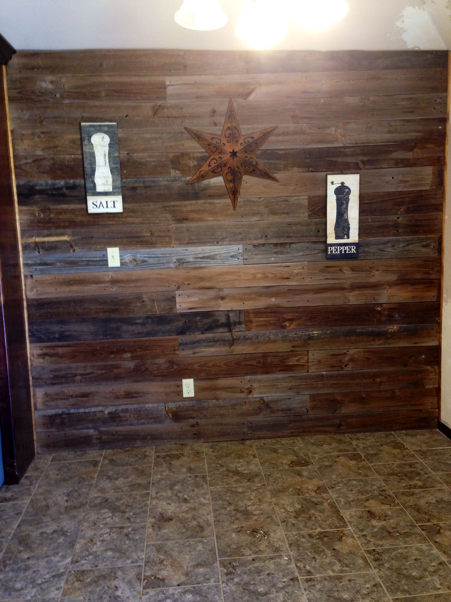 diy fence panel wall on www hollynichole weebly com our stuff