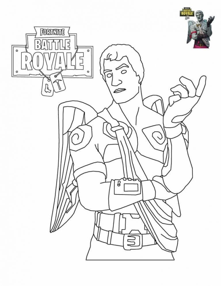 Fortnite coloring sheets to print immagini in 2019 for Fortnite disegni da colorare