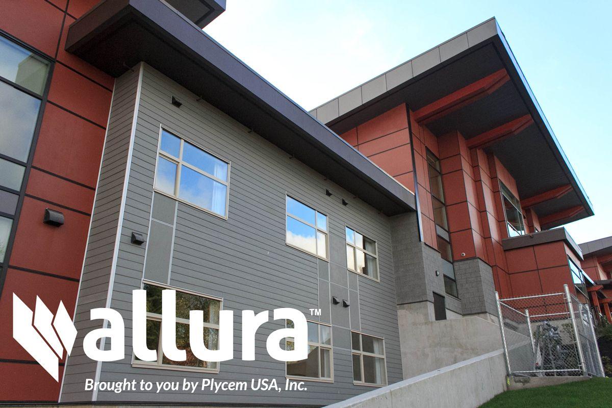 Built by allura fiber cement siding architecture for Allure cement siding