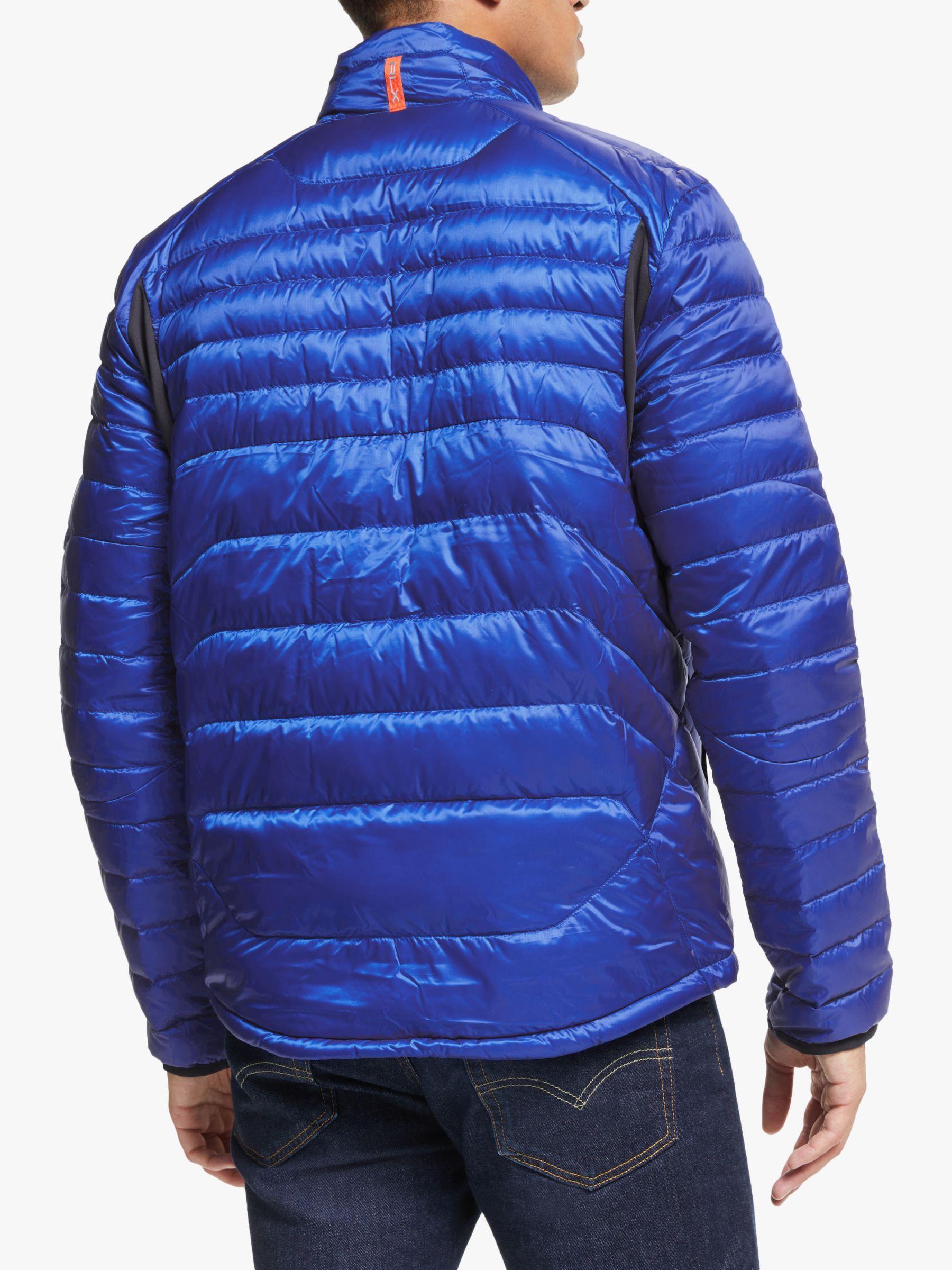 Polo Golf By Ralph Lauren Packable Down Jacket New Iris Blue Ralph Lauren Golf Wear