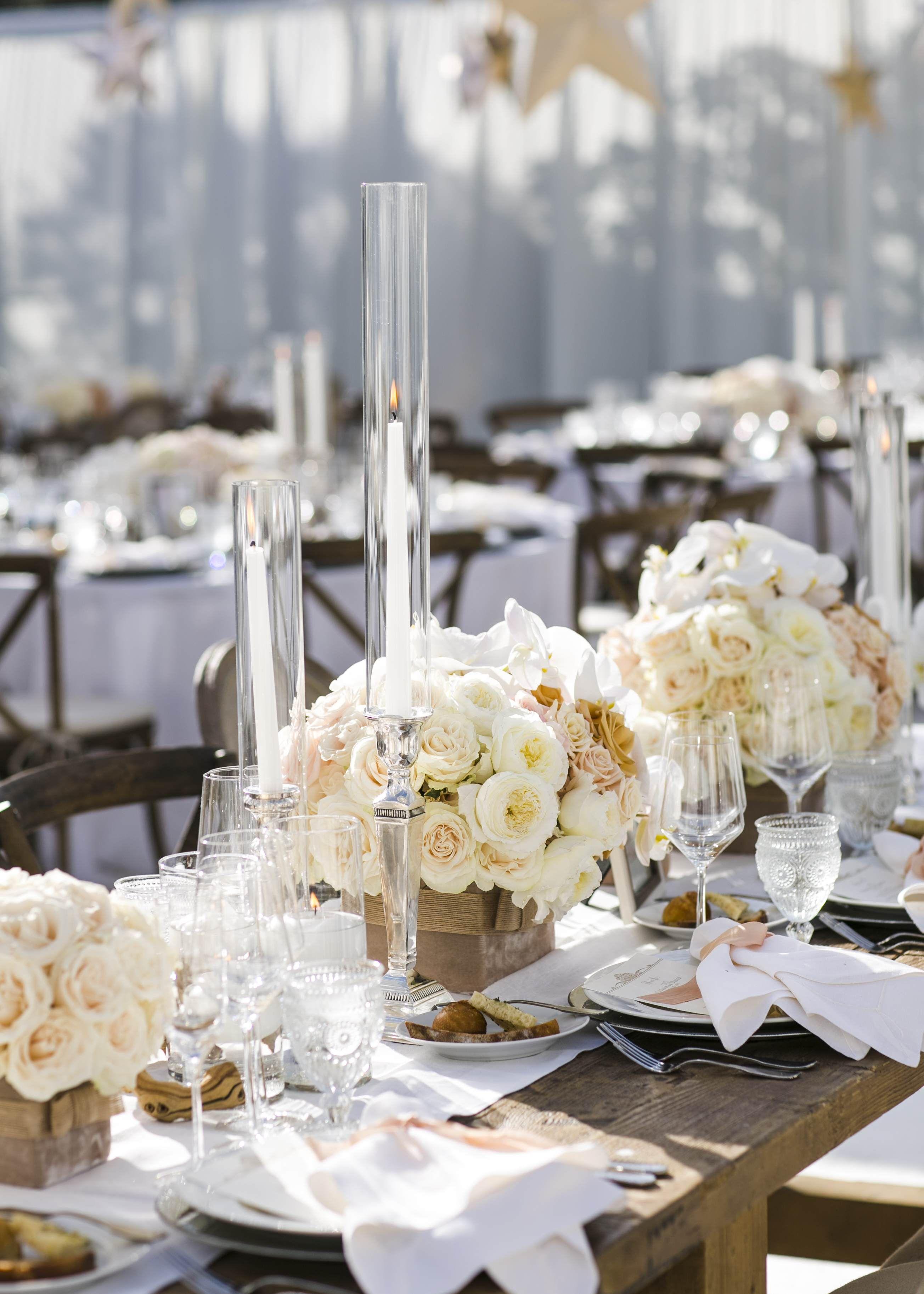 Elegant Summer Beach Wedding in Southern California | Floral ...