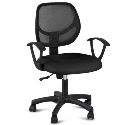Yaheetech Adjustable Swivel Mesh Executive Computer Desk Https Www Amazon Com Dp B01 Adjustable Office Chair Adjustable Computer Desk Computer Desk Chair