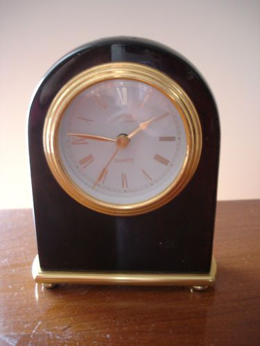Vintage Danbury Mint Mantel Germany Movement Desk Clock
