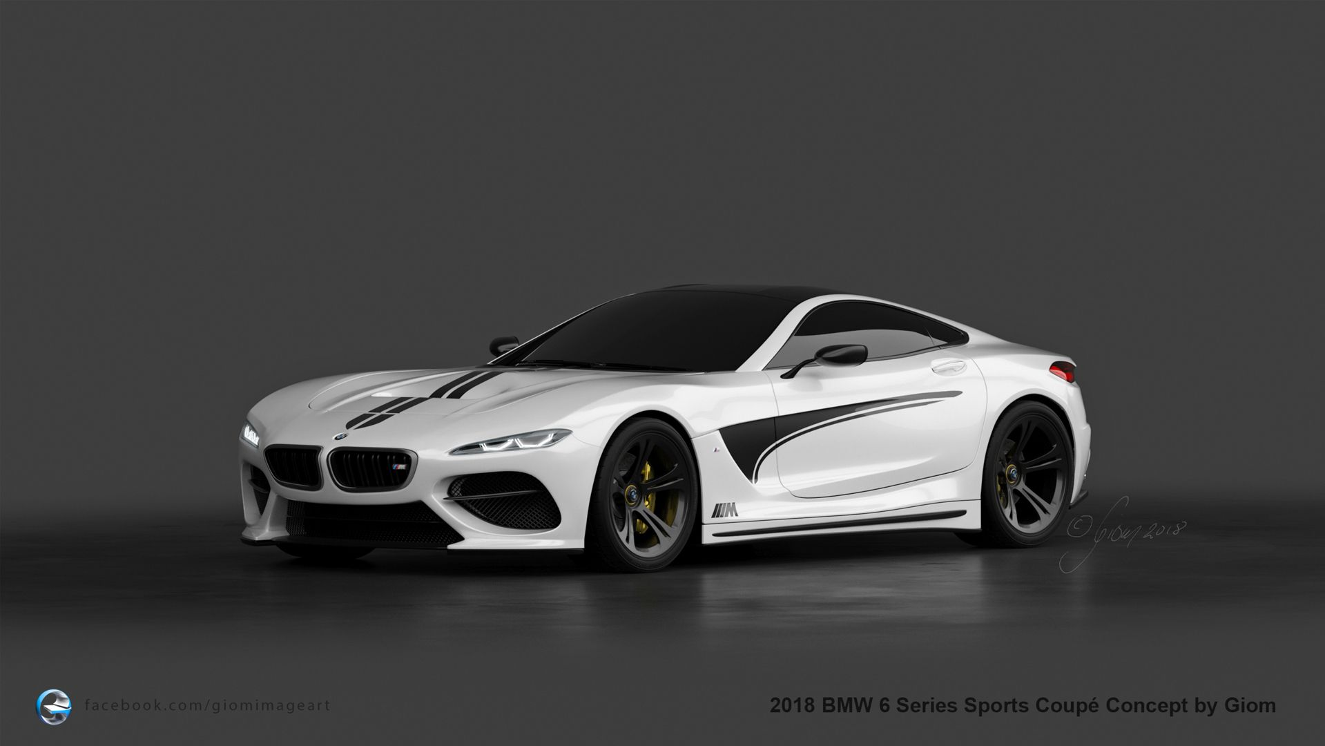 Bmw 6 Series Sport Coupe Rendered Bmw Sport Sports Coupe Bmw Car Models