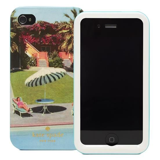 ALL IN A DAYS WORK 4 RESIN IPHONE CASE by Kate Spade