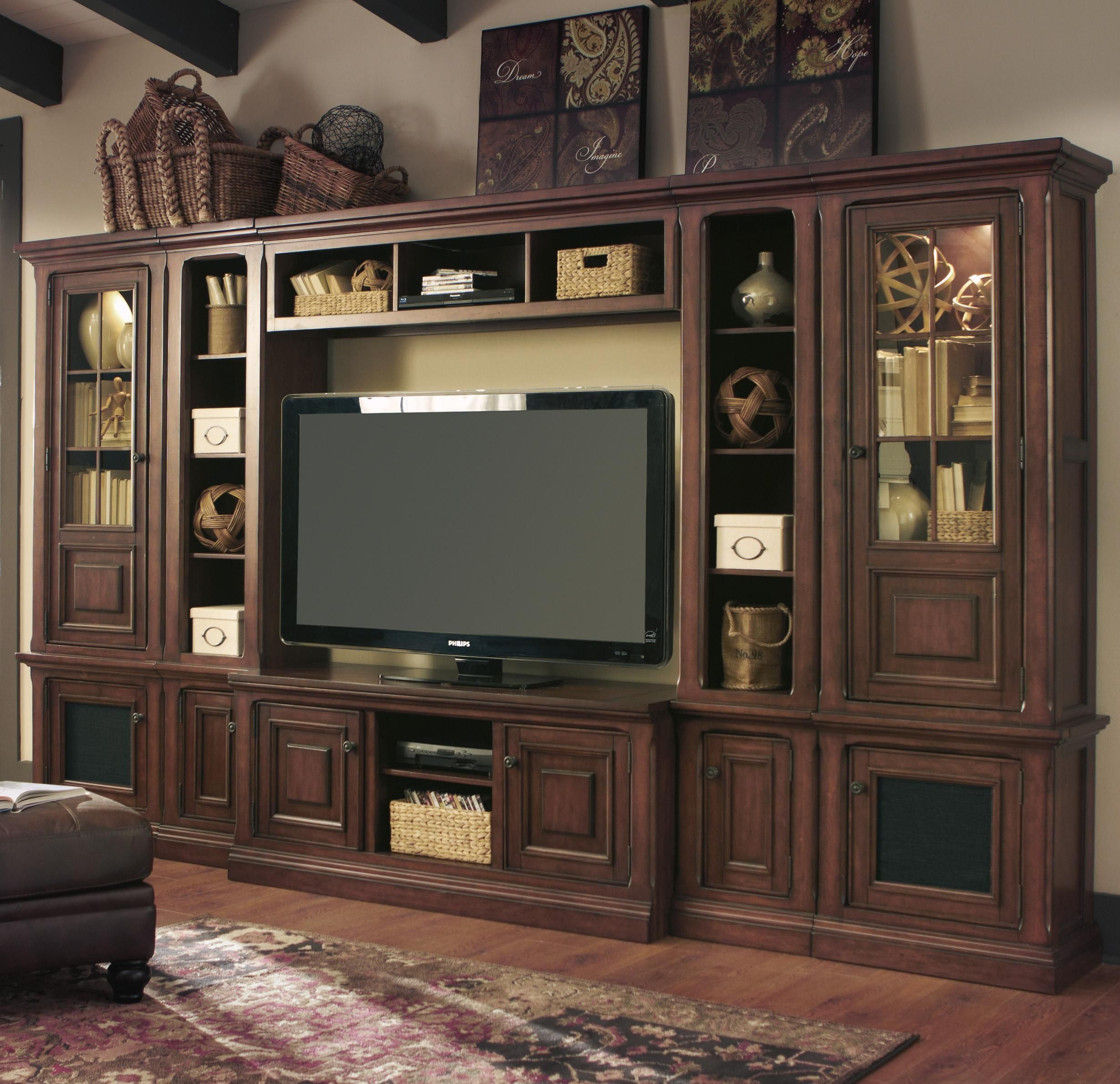 Gaylon Wide And Narrow Pier Entertainment Center By