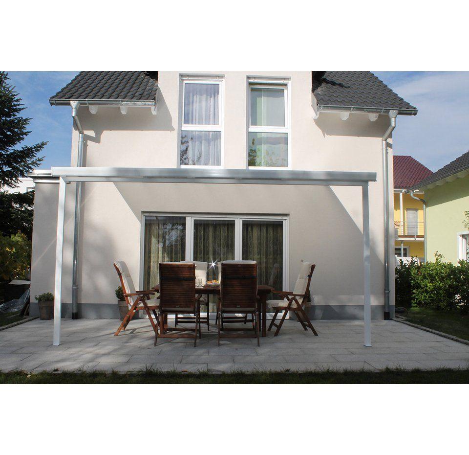 Terrassenuberdachung Bausatz Bxt 306 Cm X 306 Cm Weiss