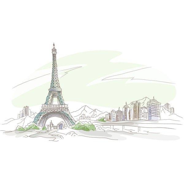 Eiffel Tower Wallpaper, HD, Paris, Computer Desktop Wallpapers, 1920x1080 found on Polyvore