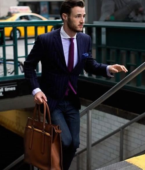 On-the-go business style