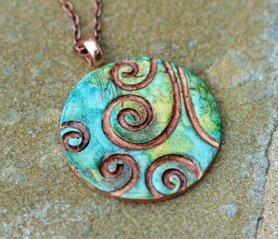 fantasy polymer clay tutorial velvetorium pendant quartz pin