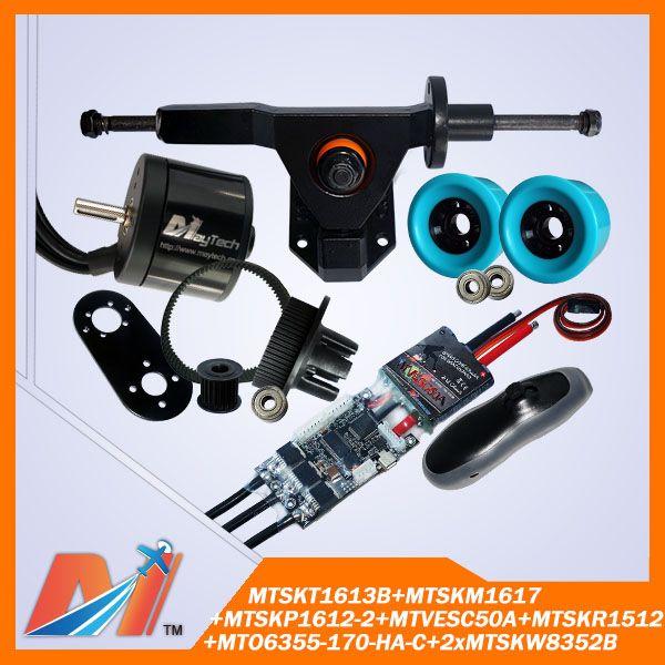 Maytech 8pcs elektric skateboard 6355 brushless electric motor 48v 3000w combo  Electric