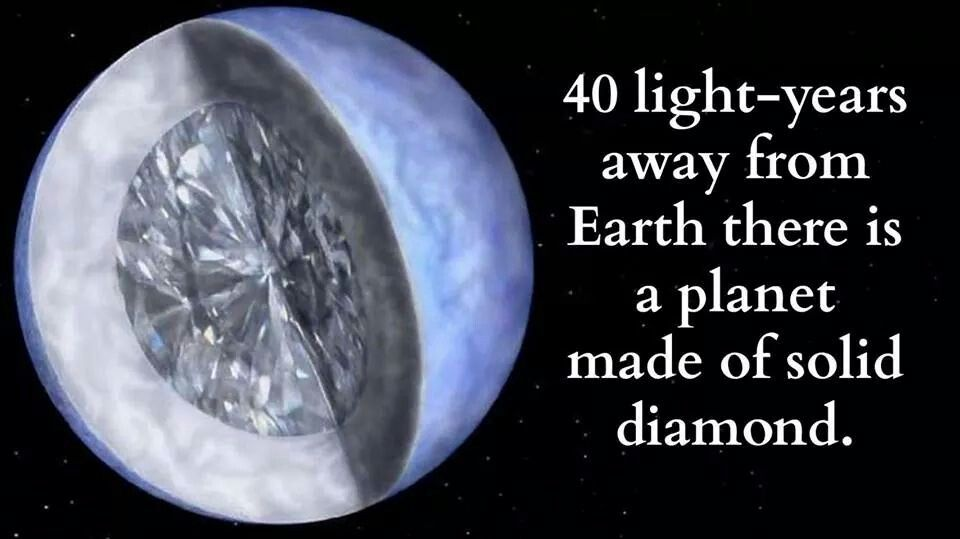 Planet made of diamond. | nature | Pinterest | Planets and ...