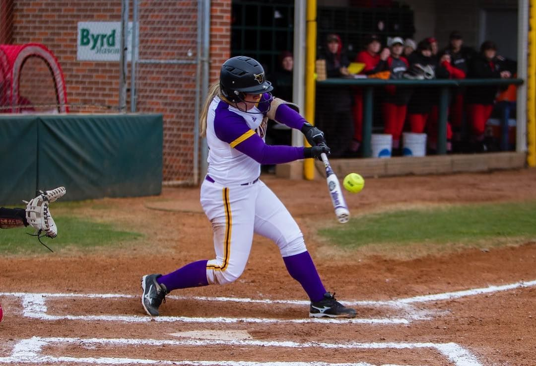 Picture perfect swing by NCAA National Champion, cori