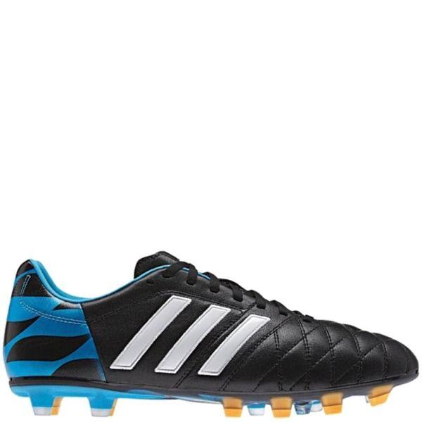 size 40 f1af0 16141 adidas Adipure 11Pro TRX FG Black Core White Solar Blue Soccer Cleats -  model M17744