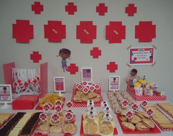 fiestas de cumpleaos doctora juguetes para pequeos mdicos y enfermeras
