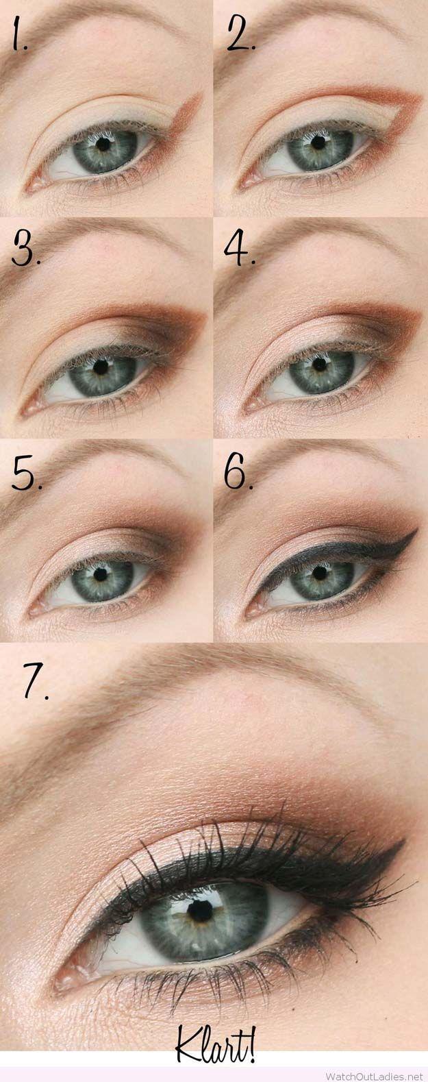 29 Step by Step Smokey Eye Tutorials Brown eye makeup
