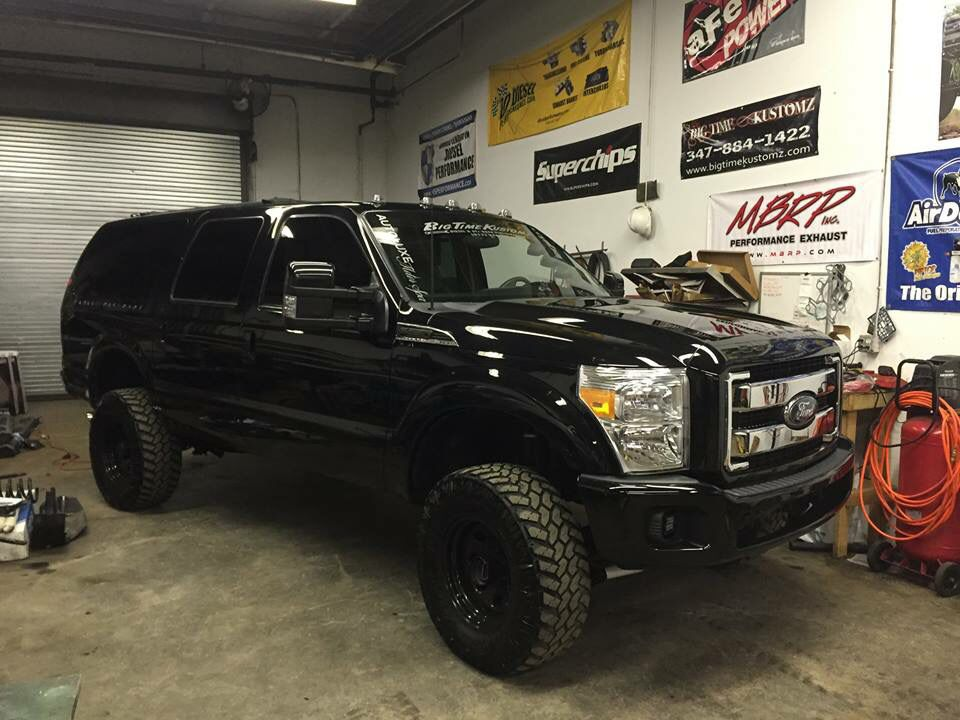 2003 Excursion With 2015 Front End Ford Excursion Diesel Ford