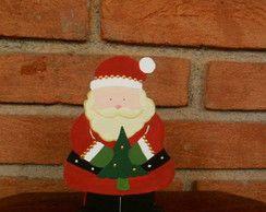 Porta-guardanapos de Papai Noel