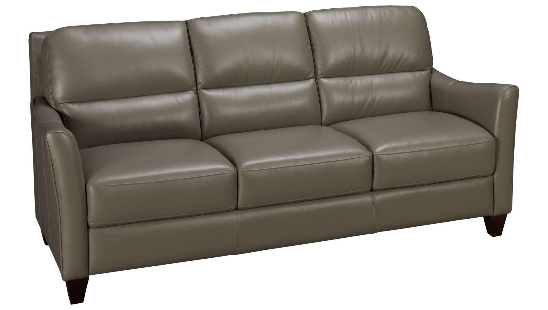 - Futura Leather-Bermuda-Bermuda Leather Sofa - Jordan's Furniture