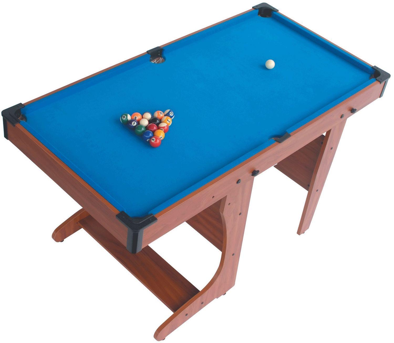 Folding Pool Table 4ft 6