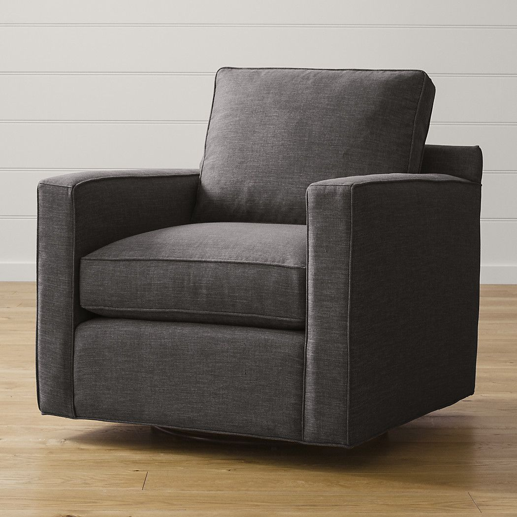 Small Swivel Accent Chair: Crate And Barrel (With Images