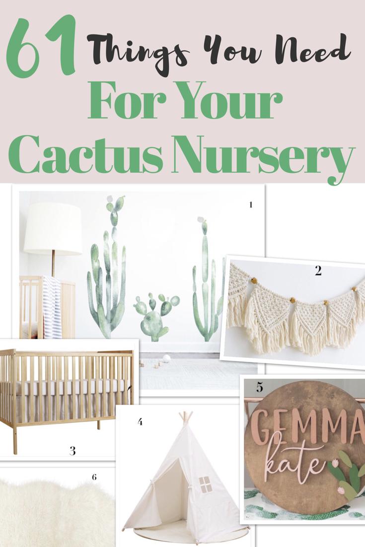 61 Best Finds For A Cactus Nursery Theme Nursery Themes Nursery